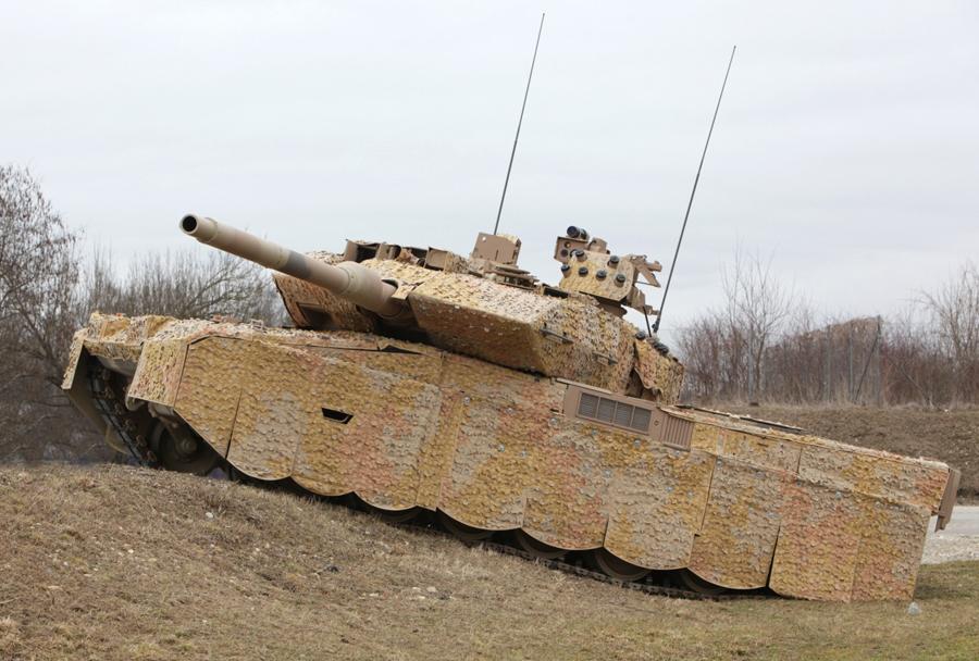 Nemški glavni bojni tank leopard 2A7