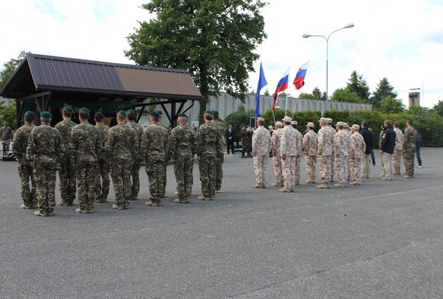Vrnitev20. kontingenta SV  iz operacije ISAF v Afganistanu