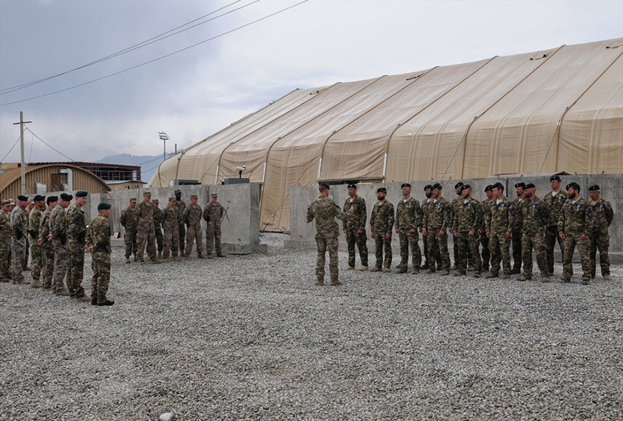 ESD v operaciji ISAF v Afganistanu