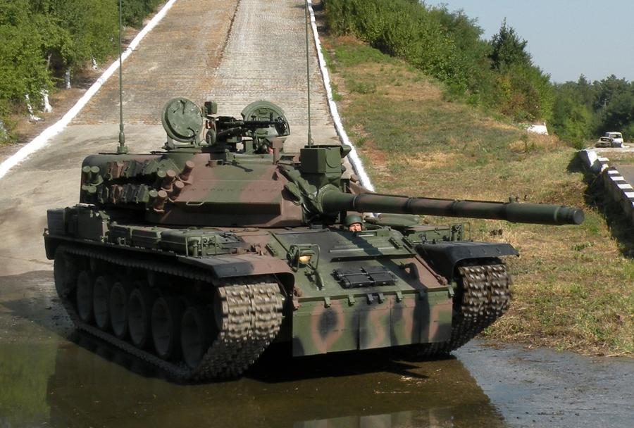 Romunski tank TR-85M1 bizonul