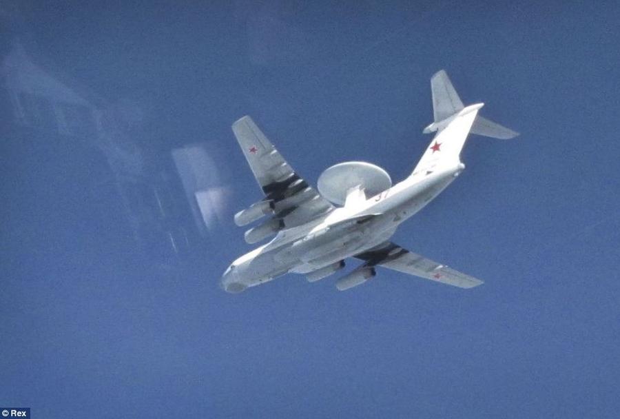 Rusko-letalo-za-zgodnje-opzarjanje-Berijev-A-50-nad-Baltikom-