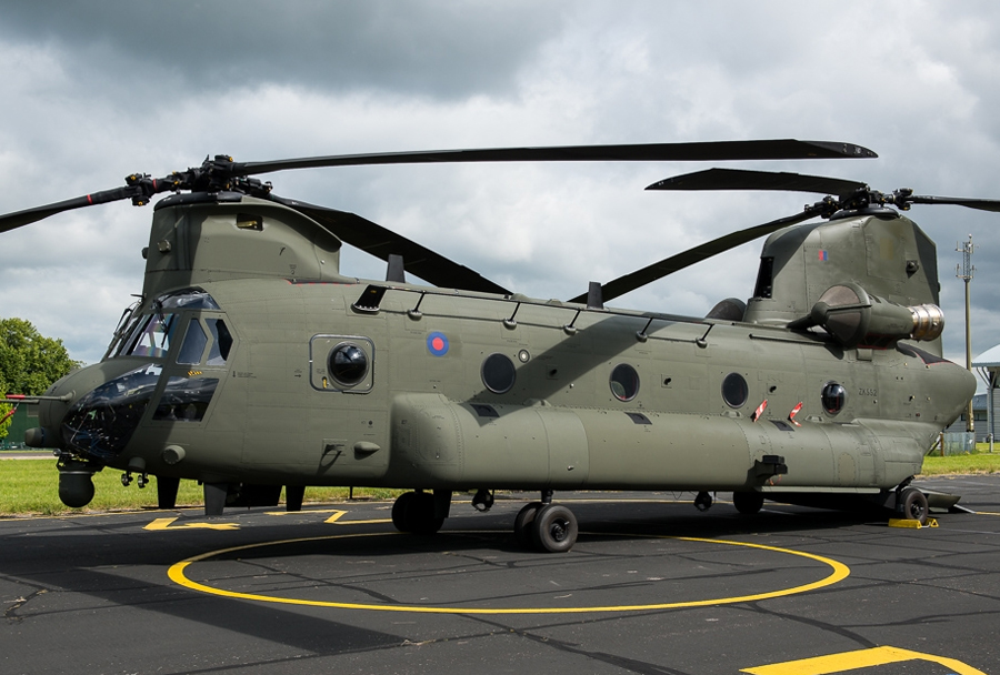 helikopter CH-47 chinook Mk6