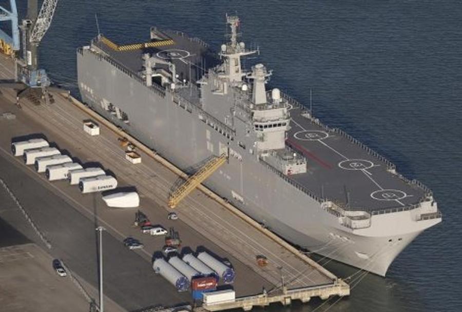 Ruska ladja Vladivostok razreda mistral