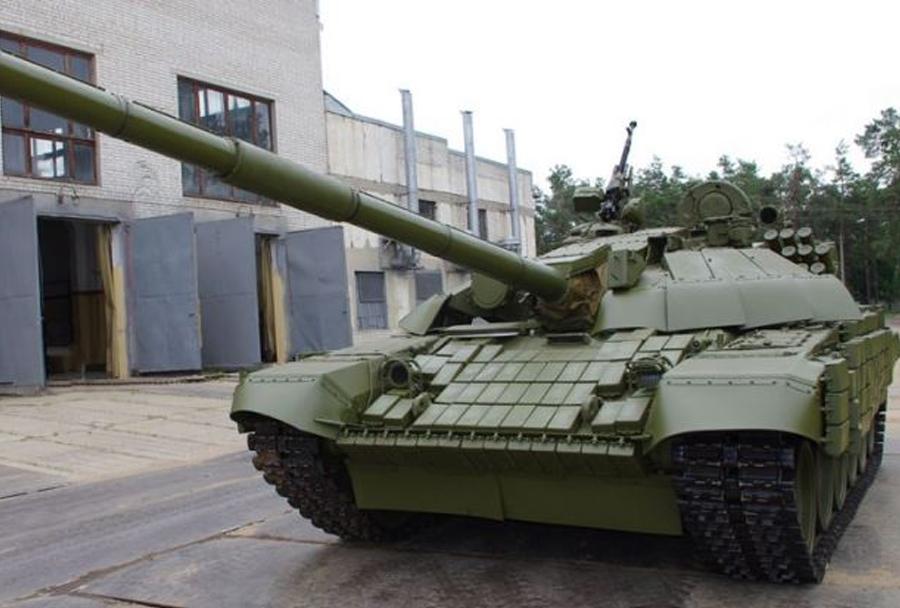 Ukrajinski tanki T-72UA1
