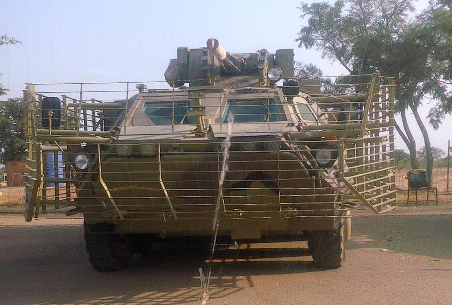 Oklepno vozilo BTR-4E - Nigerijska vojska