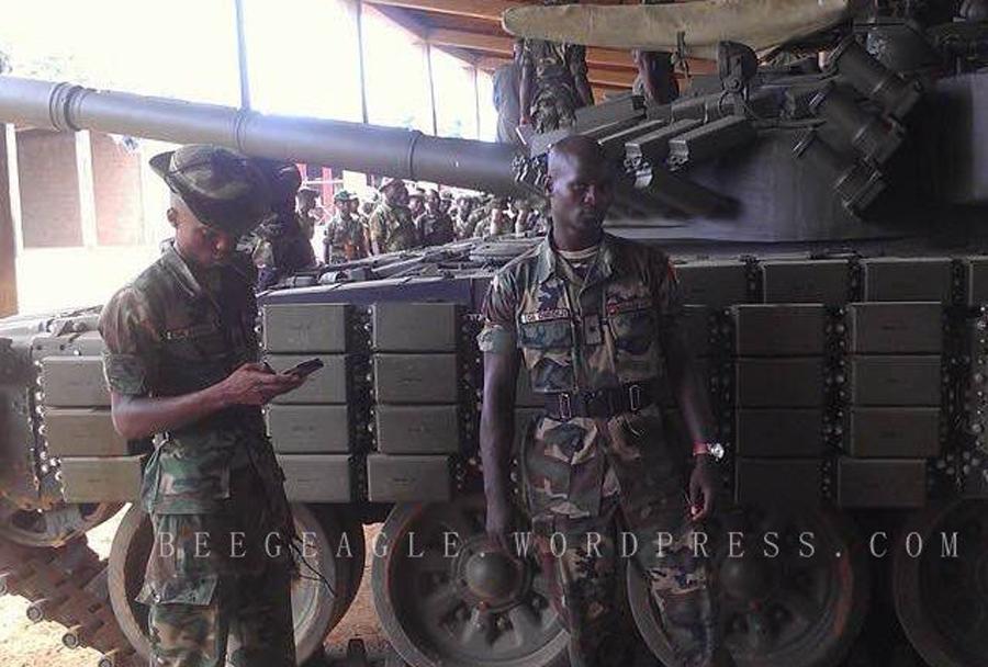 Tank T-72AV - Nigerijska vojska