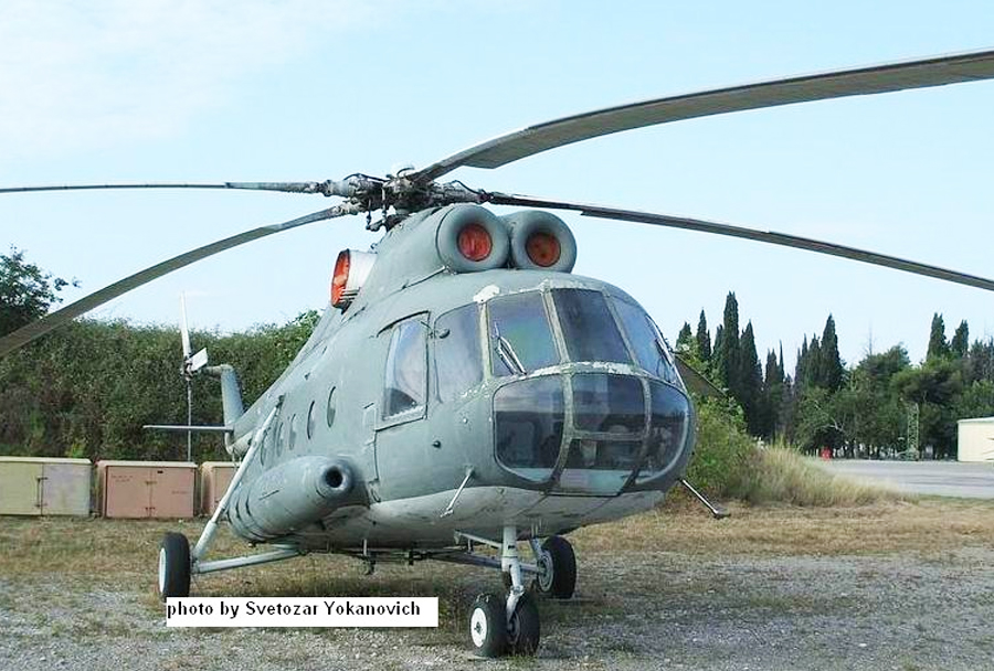 Črnogorski helikopter Mi-8