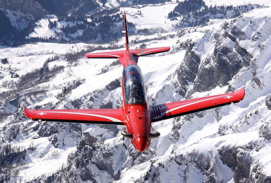 Letalo Pilatus PC-21