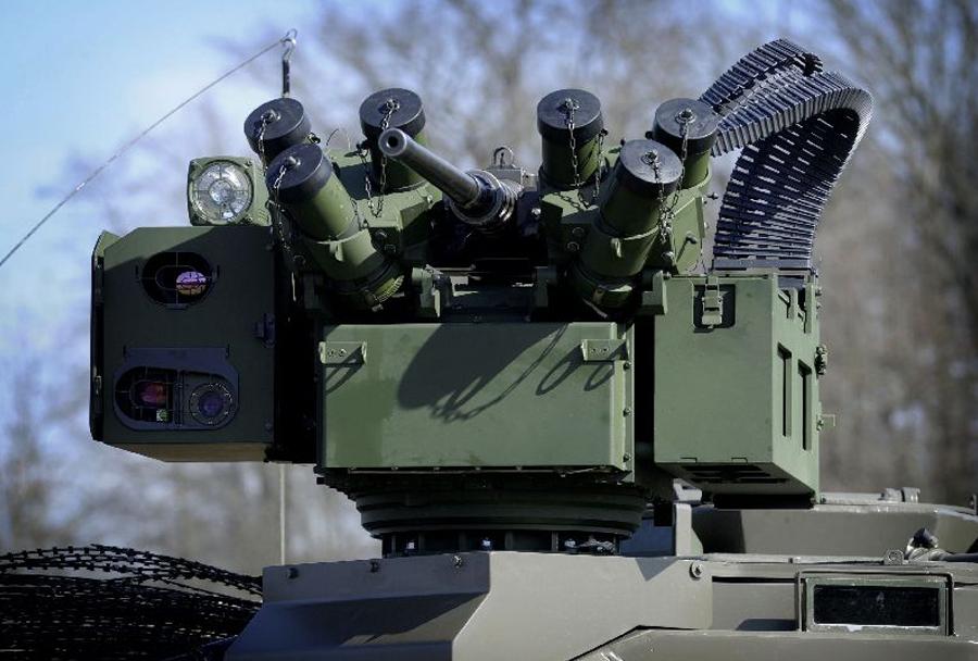 Avstrijska vojska - oborožitvena postaja vozila pandur 6x6