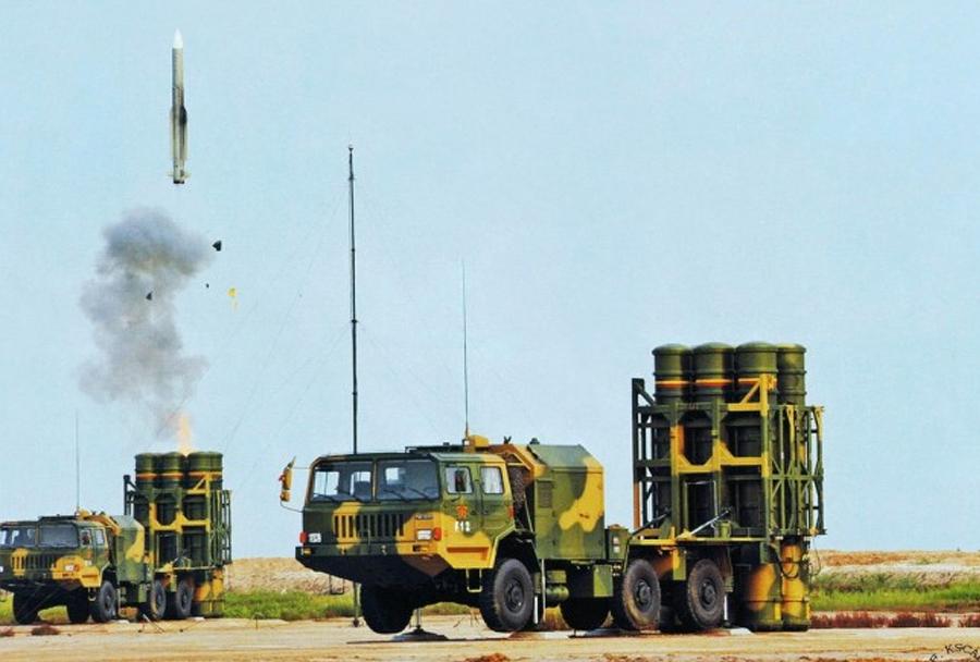 Kitajski raketni sistem HQ-9