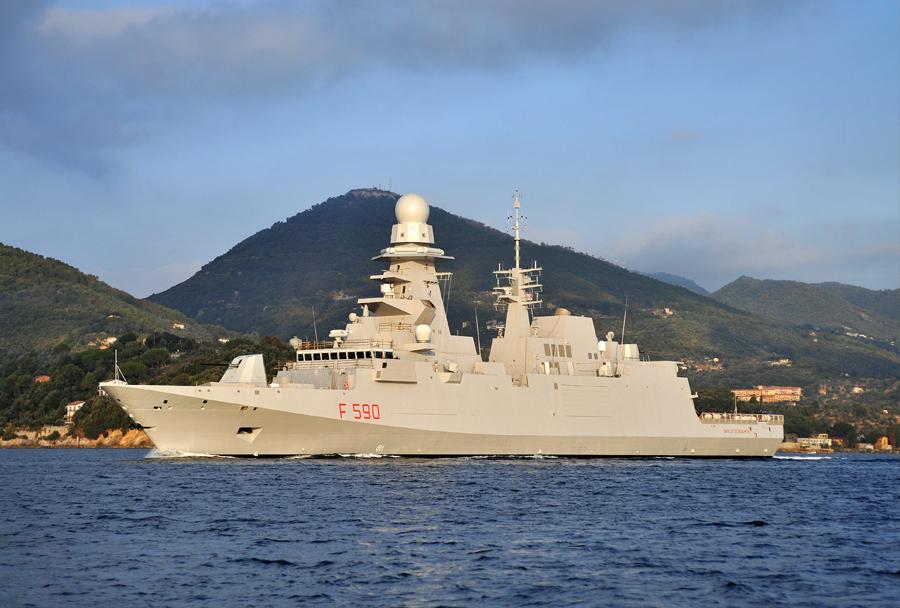 Italijanska fregata Carlo Bergamini razreda bergamini (FREMM)