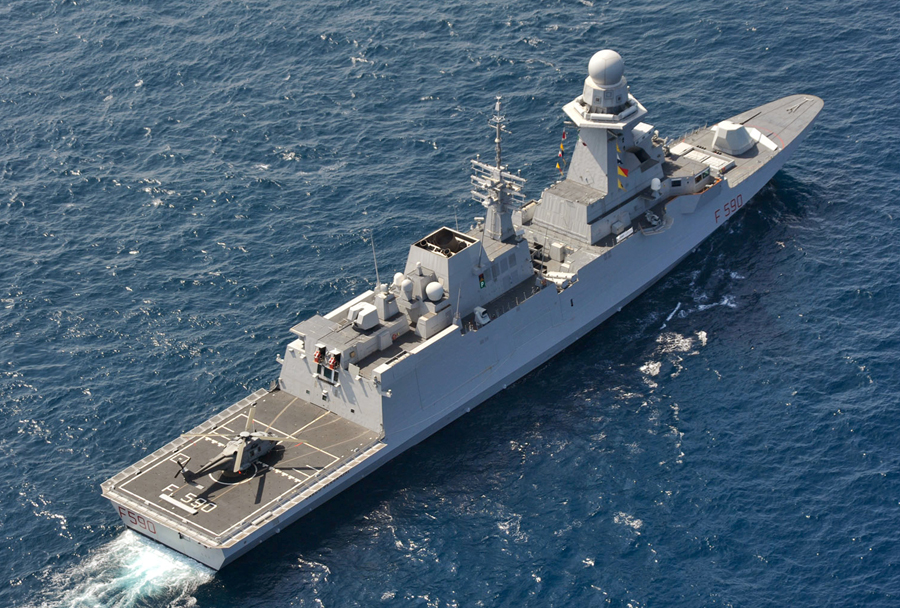 Italijanska fregata razreda bergamini (FREMM)
