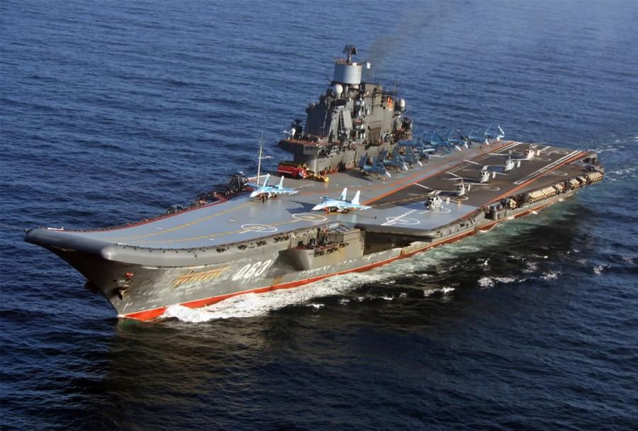 Ruska letalonosilka Admiral Kuznetsov 063