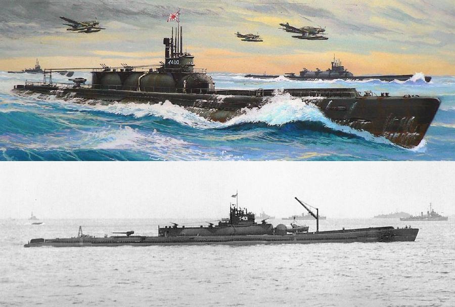 Japonska podmornica I-400 razreda sen-toku (2. svetovna vojna)