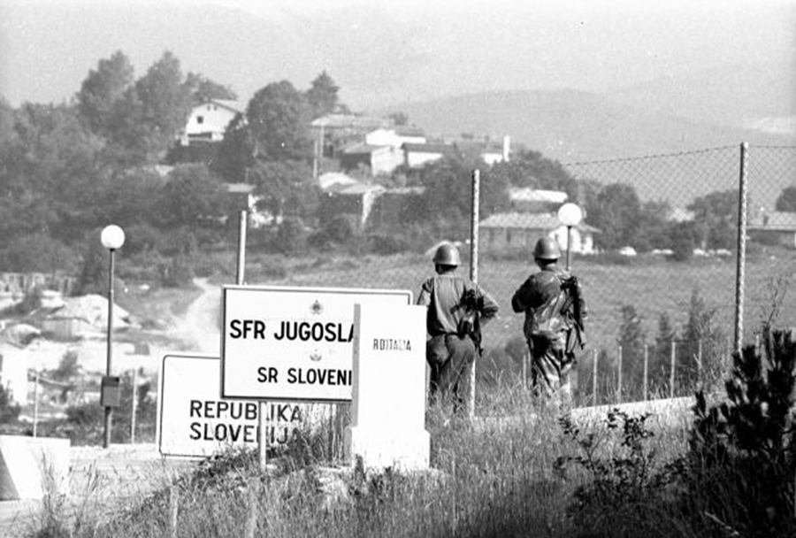 Vojna za Slovenijo, junij/julij 1991