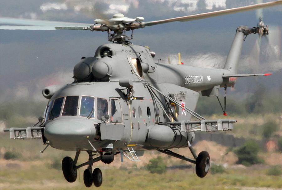 Ruski helikopter Mi-8AMTSh-VA