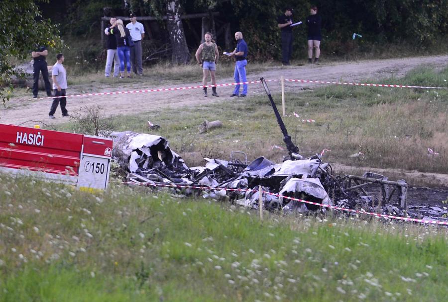 Slovaški helikopter Mi-17 po nesreči