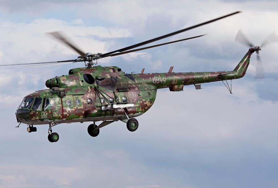 Slovaški helikopter Mi-17