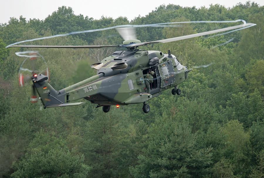 Nemška vojska - helikopter NH90