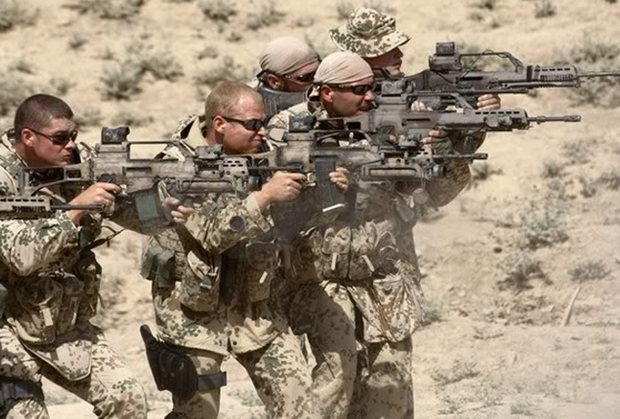 Nemška vojska - jurišna puška G36