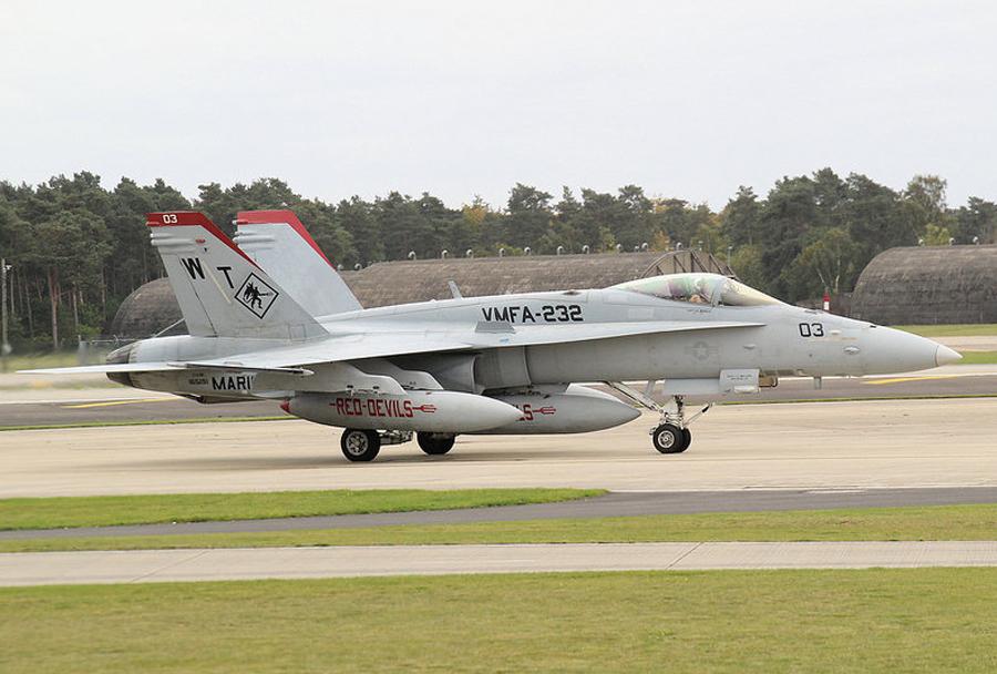 F/A-18 hornet (VMFA-232)