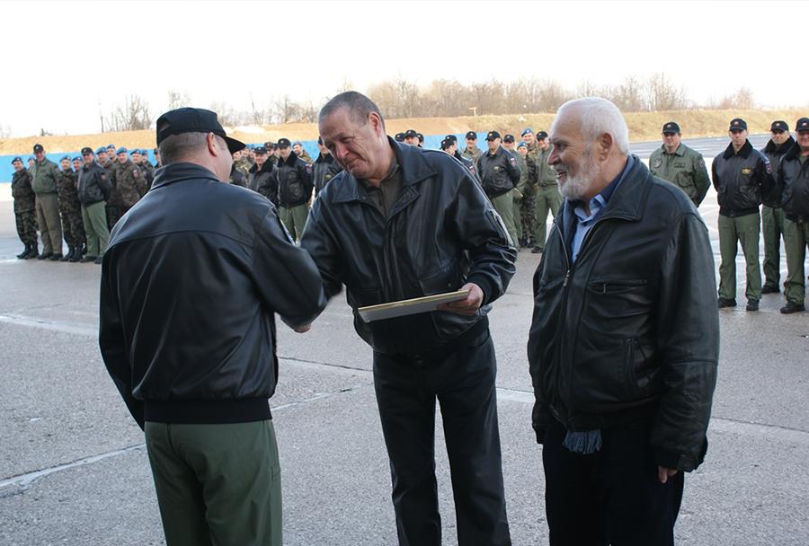 Dan slovenskega letalstva 2016: Zaslužna veterana Jože Kalan in Bogo Šuštar