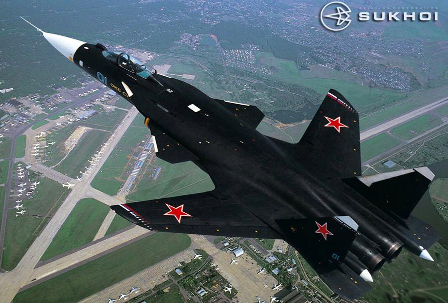 Rusko prototipno letalo Su-47 berkut