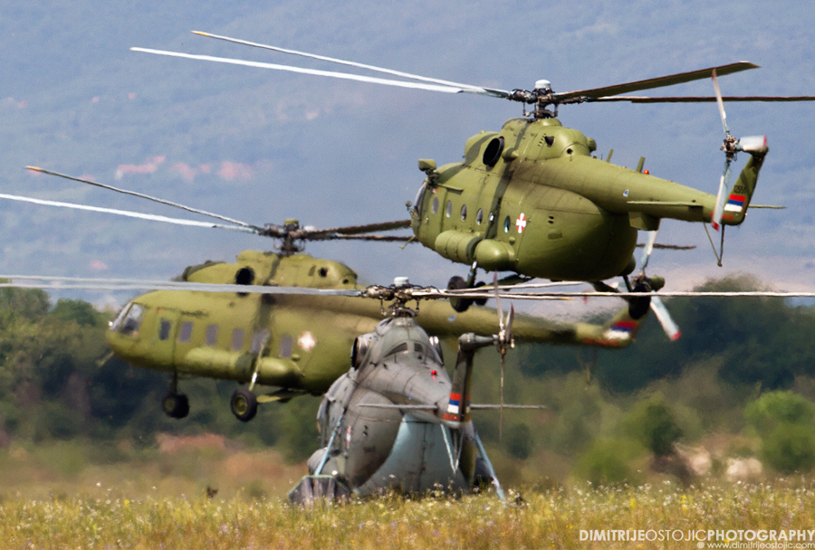 Srbski helikopterji Mi-8/17
