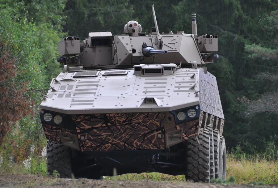 Oklepno vozilo Patria AMV XP 8x8