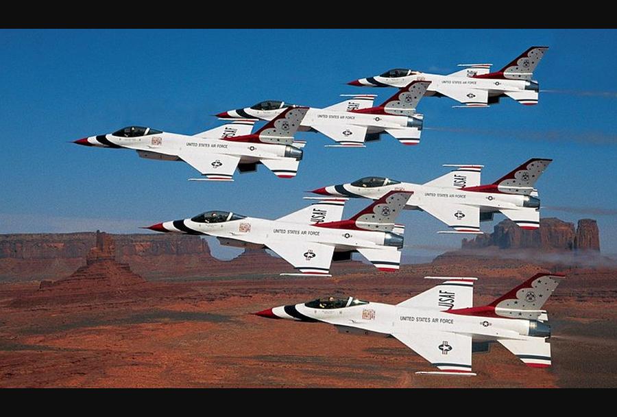 Akrobatska letalska skupina Thunderbirds (F-16)