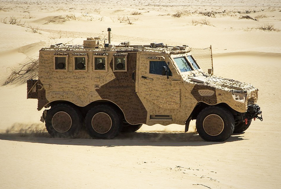Oklepno vozilo Nimr HAFEET 6x6.