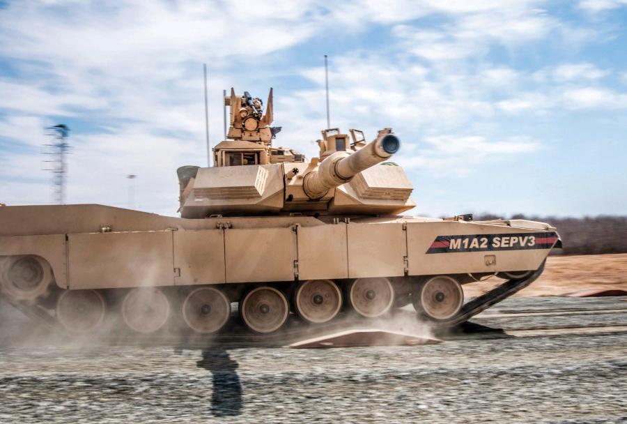 Ameriški glavni bojni tank M1A2 SEPV3 abrams