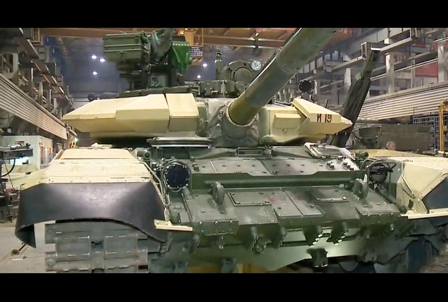Novi iraški tank T-90S na proizvodni liniji