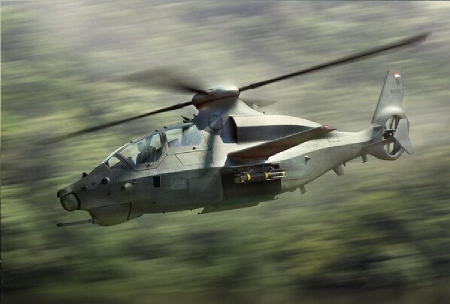 Bell 360 invictus - koncept jurišnega helikopterja