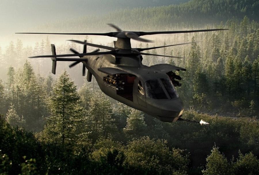 Lockheed Martin raider X - koncept jurišnega helikopterja