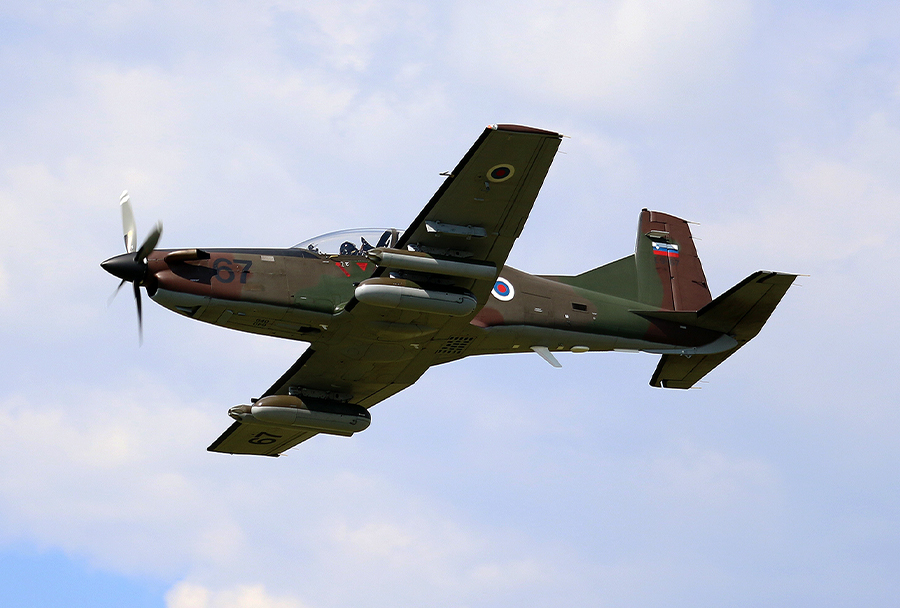 Pilatus PC-9 - Slovenska vojska