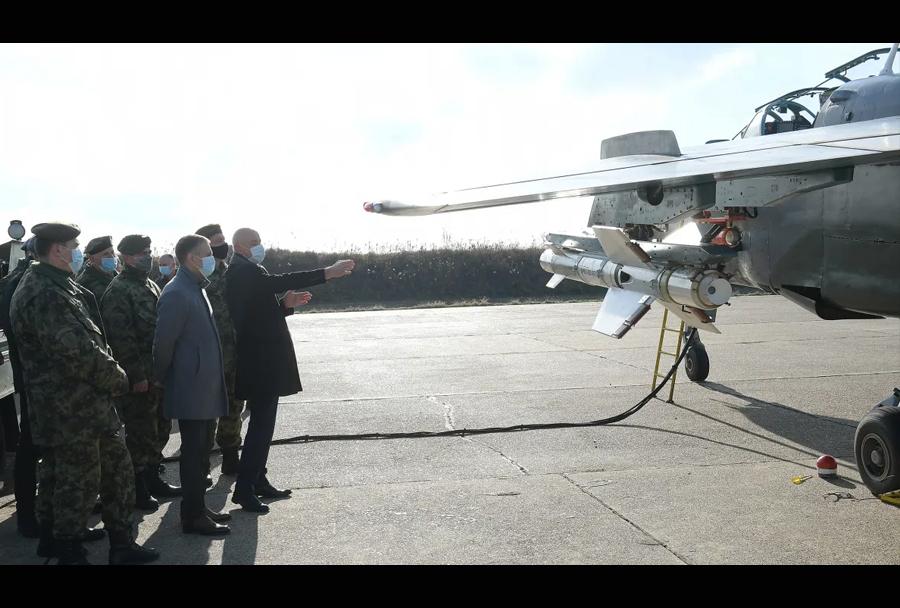 Nova srbska raketa zrak-zemlja VRVZ-200