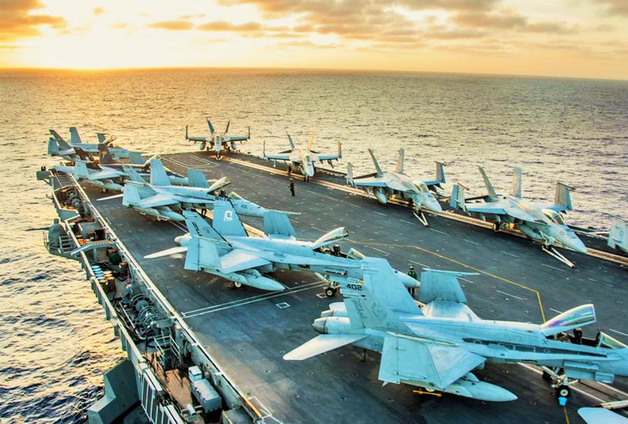 Palubna bojna letala F/A-18 super hornet