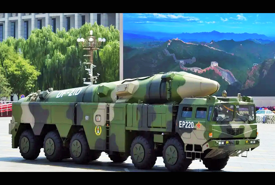 kitajska raketa dong-feng DF-21