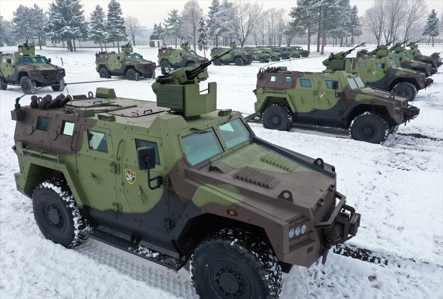 Bojna oklepna vozila M16 miloš 4x4