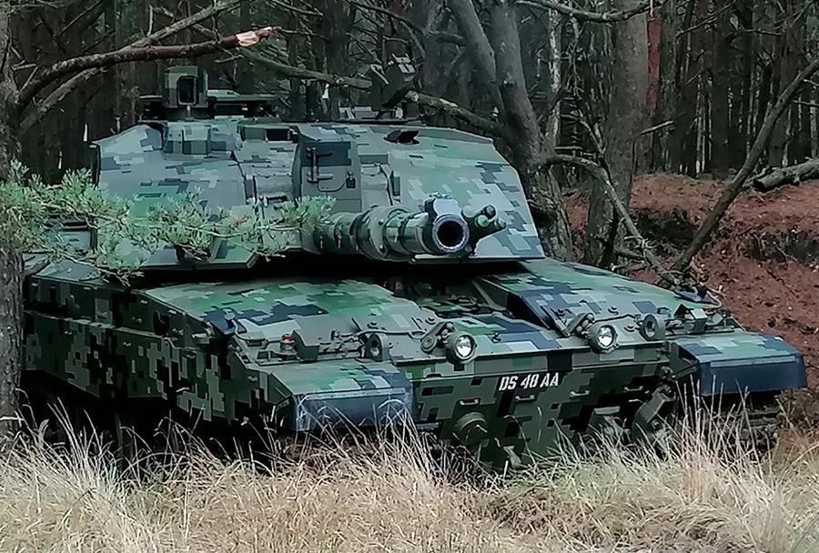 Koncept nove kamuflaže za britansko vojsko